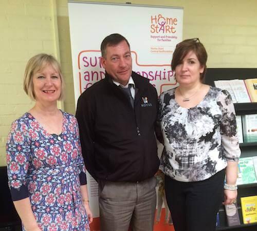 Cheering Volunteering Awards In Bedfordshire