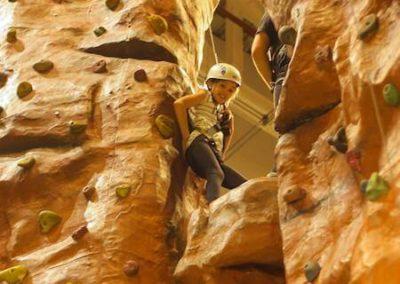 Climbing Wall Fundraising