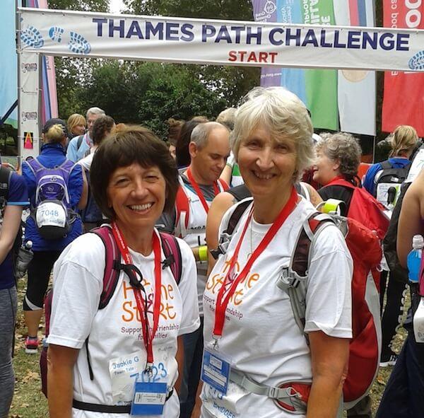 25km, 16 Bridges Thames Path Trek