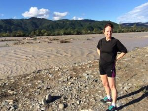 Elaine London Marathon Runner