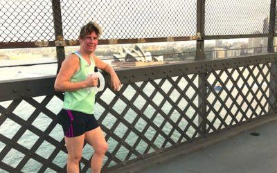 Elaine's training to run the London Marathon