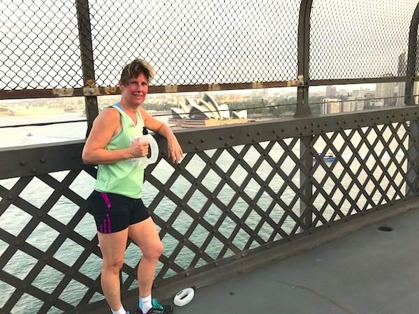 Elaine Run The London Marathon